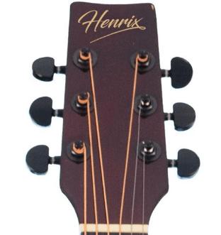 Henrix 38C Cutaway Acoustic Guitar Review of Tuners