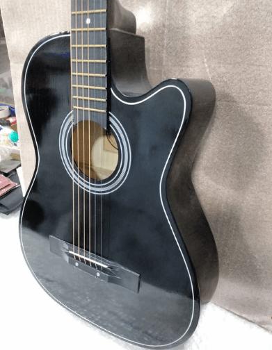 Henrix 38c cutaway acoustic guitar Body Shape